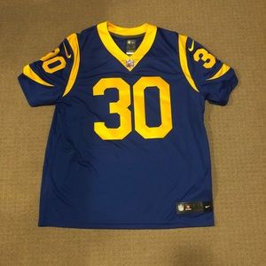 Men's NFL Nike limited jersey (Todd Gurley)